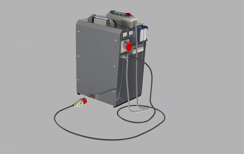 W250 – Polietilen Boru Alın Kaynak Makinası – Other 4