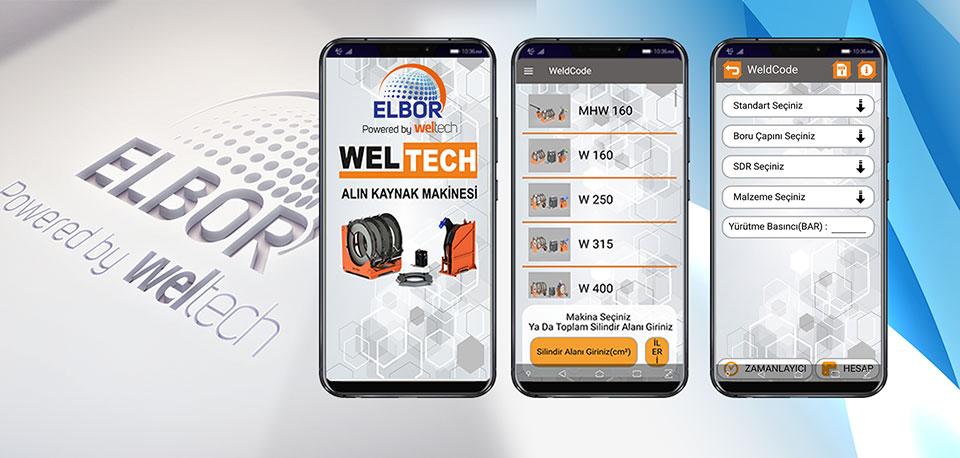 Weldcode Mobil Uygulama