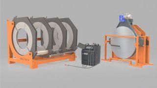 W1000 - Polietilen Boru CNC Alın Kaynak Makinası - Cover