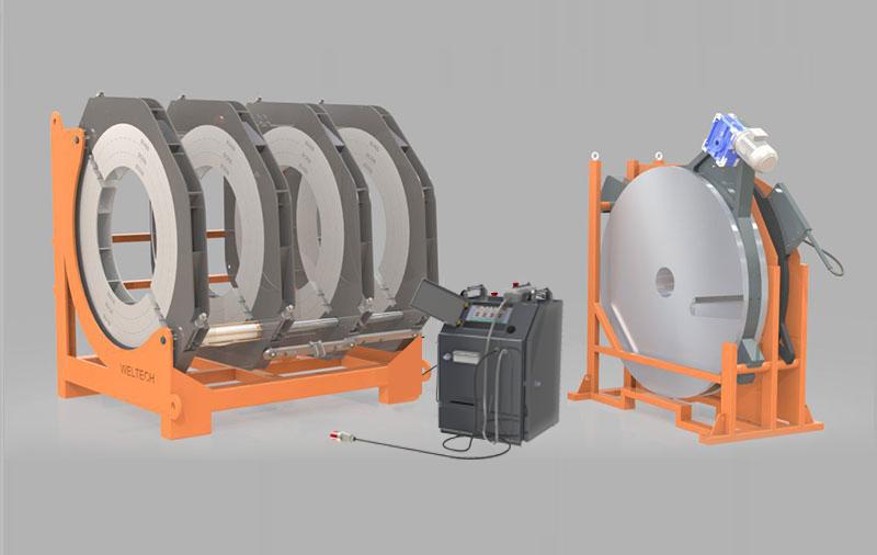 W2000 - Polietilen Boru CNC Alın Kaynak Makinası - Cover