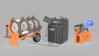 W250 - Polietilen Boru CNC Alın Kaynak Makinası - Cover