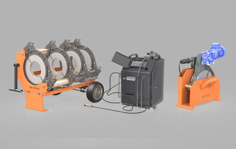 W315 - Polietilen Boru CNC Alın Kaynak Makinası - Cover