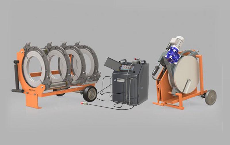W400 - Polietilen Boru CNC Alın Kaynak Makinası - Cover