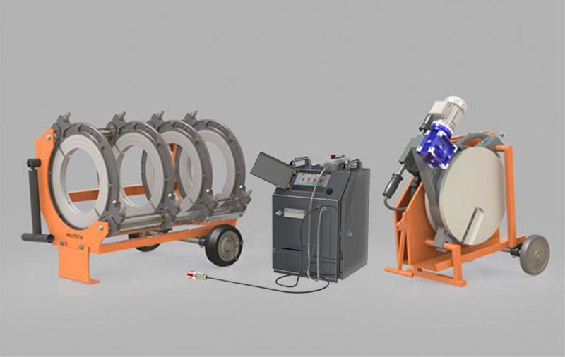 W500 - Polietilen Boru CNC Alın Kaynak Makinası - Cover