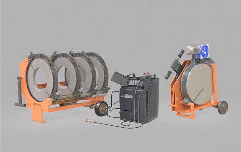 W630 - Polietilen Boru CNC Alın Kaynak Makinası - Cover