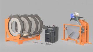 W800 - Polietilen Boru CNC Alın Kaynak Makinası - Cover